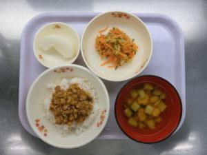 9月17日(木)幼児食