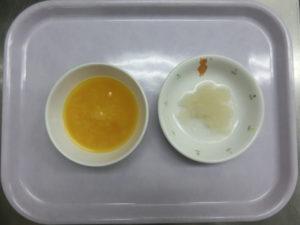 9月17日(木)離乳食中期 (7‐8か月頃の食事)
