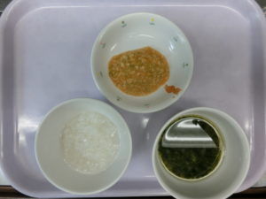 9月8日(火)離乳食中期(7-8か月頃の食事)