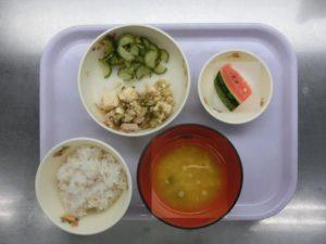 8月2日(月)幼児食