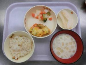10月12日(火)幼児食