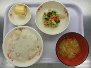 10月1日(金)幼児食